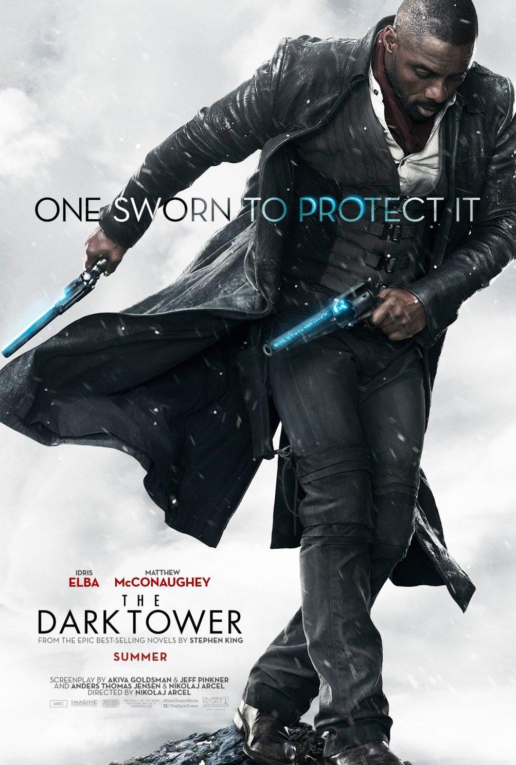 La Torre Nera: il poster di Idris Elba