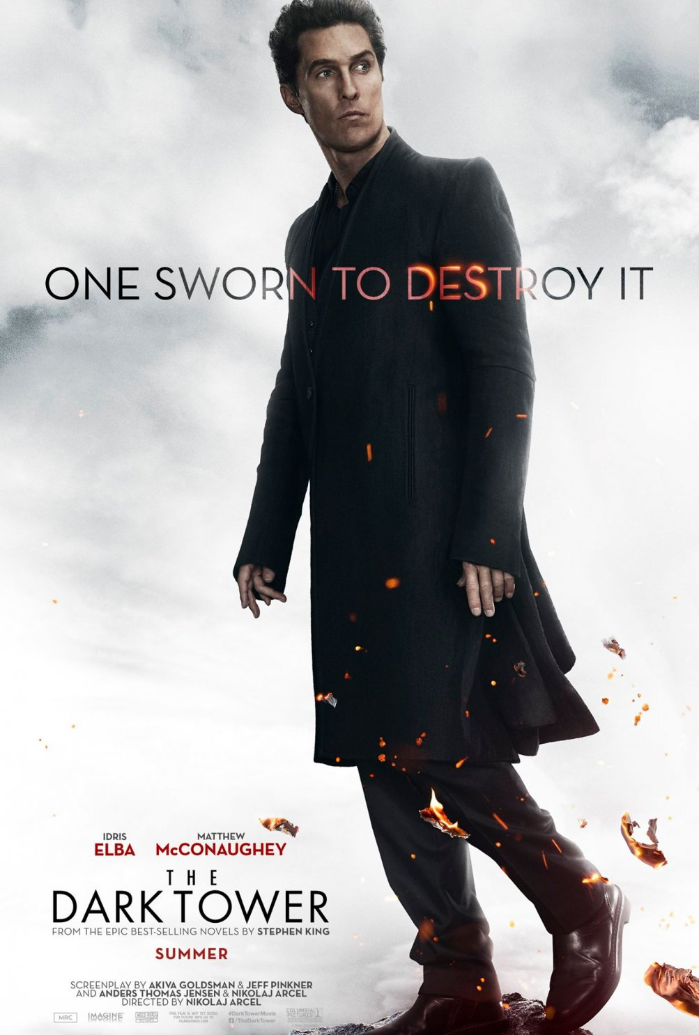 La Torre Nera: il poster di Matthew McConaughey