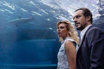 Fortunata: Stefano Accorsi e Jasmine Trinca in una scena del film