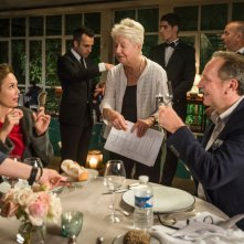 Paris Can Wait: la regista Eleanor Coppola, Diane Lane e Arnaud Viard sul set del film