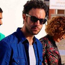 Taranta on the Road: Alessio Vassallo in una scena del film