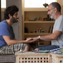 Una settimana e un giorno: Shai Avivi e Tomer Kapon in un'immagine del film