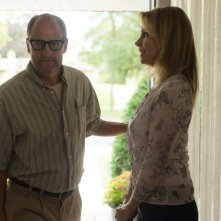 Wilson: Woody Harrelson e Cheryl Hines in una scena del film