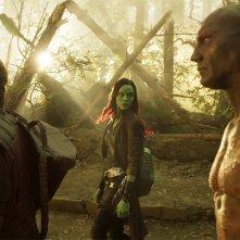 Guardiani della Galassia Vol. 2: una foto dei protagonisti del film