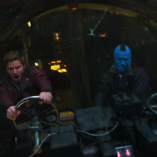 Guardiani della Galassia Vol. 2: Star-Lord e Yondu in una foto del film