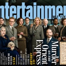 Assassinio sull'Orient Express: la copertina di Entertainment Weekly