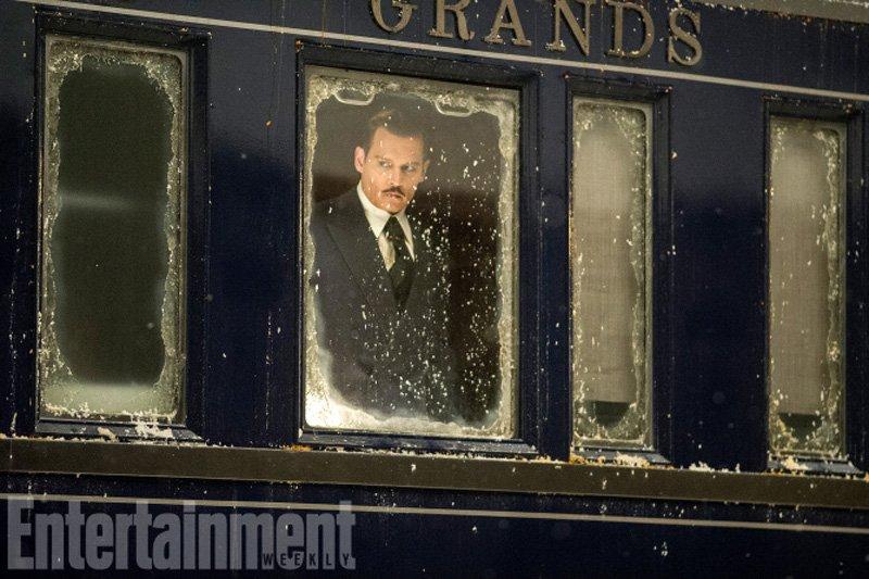 Assassinio sull'Orient Express: Johnny Depp in una foto del film