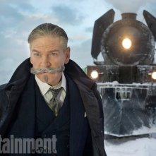 Assassinio sull'Orient Express: Kenneth Branagh in una foto del film
