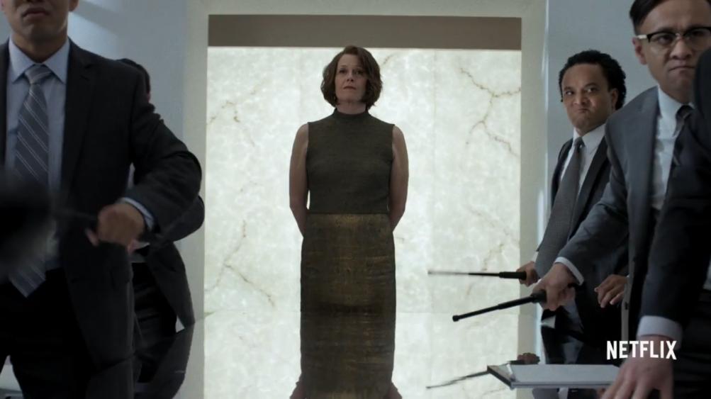 The Defenders: Sigourney Weaver nel trailer della serie Marvel/Netflix