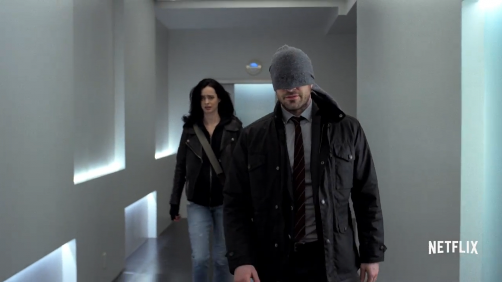 The Defenders: Charlie Cox e Krysten Ritter nel trailer della serie Marvel/Netflix