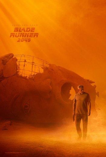 Blade Runner 2049: il poster del film con Harison Ford