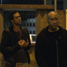 Milano in the Cage - The Movie: Alberto Lato e Cristian Stelluti in una scena del film