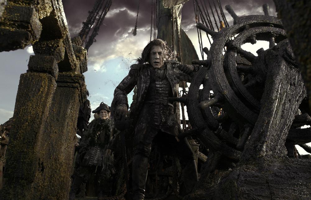 Pirati dei Caraibi: La vendetta di Salazar - Javier Bardem in una foto del film