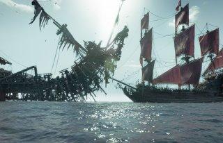 Pirati dei Caraibi: La vendetta di Salazar, una scena del film