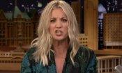The Big Bang Theory, Kaley Cuoco canta la sigla in diretta! (VIDEO)