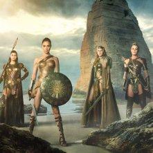 Gal Gadot nella prima immagine di Wonder Woman