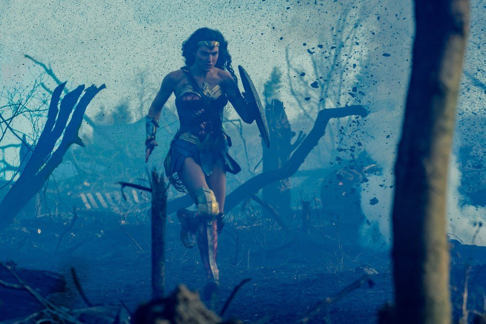 Wonder Woman: un'immagine tratta dal film