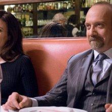 Billions: una scena con Maggie Siff e Paul Giamatti