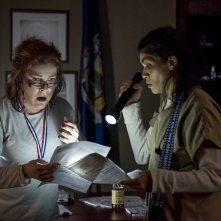 Orange Is The New Black: una foto di Kate Mulgrew e Jessica Pimentel