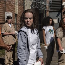 Orange Is The New Black: Taryn Manning in una foto della quinta stagione
