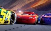 Cars 3: nel nuovo trailer Saetta è alle prese con un temibile rivale