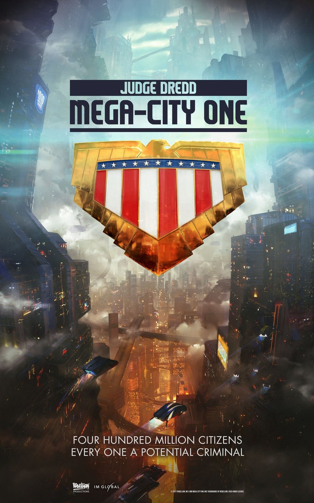 Judge Dredd: Mega-City One: il primo poster