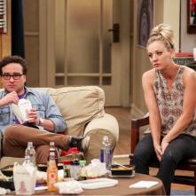 The Big Bang Theory: Johnny Galecki e Kaley Cuoco nel finale della decima stagione