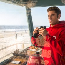 Baywatch: Zac Efron in una scena del film