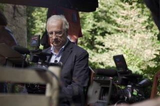 Indizi di felicità: Walter Veltroni al lavoro sul set del film