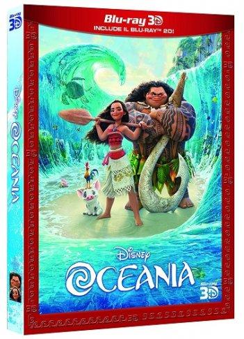 la cover del blu-ray 3D di Oceania