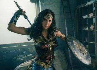 Wonder Woman: Gal Gadot in un momento del film