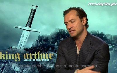 King Arthur - videointervista a Jude Law