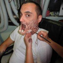 Aglien: Claudio Marmugi al trucco
