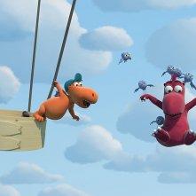 Nocedicocco - Il piccolo drago: un momento del film d'animazione