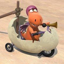 Nocedicocco - Il piccolo drago: una scena del film animato