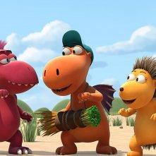 Nocedicocco - Il piccolo drago: un momento del film animato