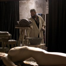 Rodin: Vincent Lindon in una scena del film