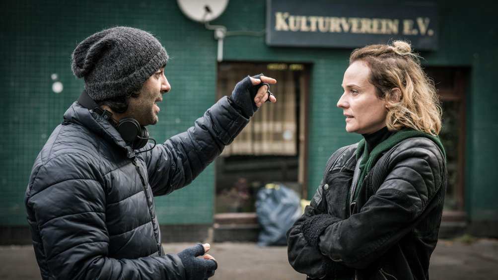 In the Fade: Diane Kruger col regista Fatih Akin