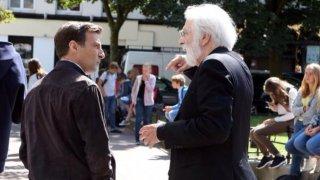 Happy End: Michael Haneke e Mathieu Kassovitz sul set