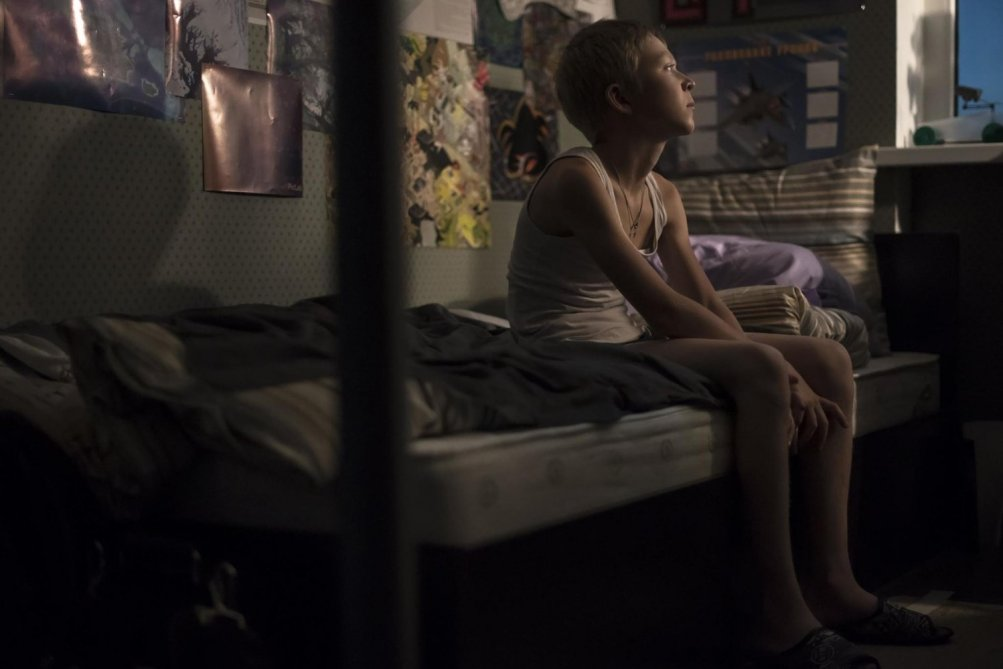 Loveless: una scena del film