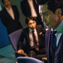 The Villainess: Shin Ha-Kyun in una scena