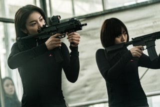 The Villainess: Kim Ok-bin in una scena