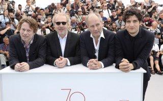 Les Fantômes d'Ismaël: il regista Arnaud Desplechin a Cannes con Mathieu Amalric, Louis Garrel e Hippolyte Girardot