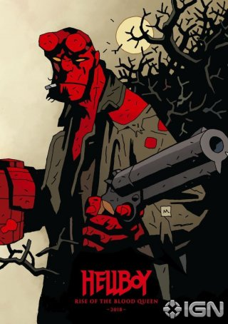 Hellboy: Rise of the Blood Queen - Un'immagine promozionale del film