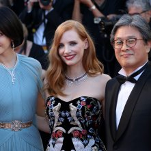 Cannes 2017: Jessica Chastain, Park Chan-Wook e Fan Bingbing sul red carpet inaugurale