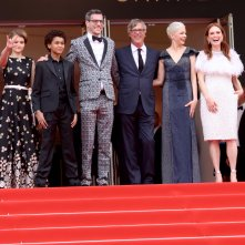 Cannes 2017: Julianne Moore, Michelle Williams, Todd Haynes, Millicent Simmonds, Jaden Michael sul red carpet di Wonderstruck