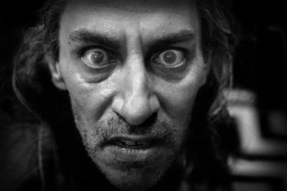 Frank Silva è BOB in una immagine promo di Twin Peaks