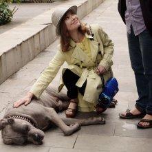 Claire's Camera: Isabelle Huppert in una scena