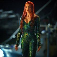Aquaman: una foto di Amber Heard nei panni di Mera