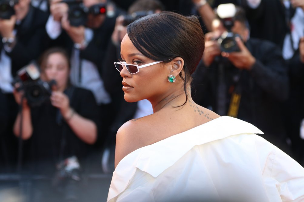 Cannes 2017: uno scatto di Rihanna sul red carpet di Okja